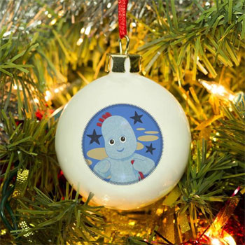In The Night Garden Igglepiggle 1st Christmas Bauble