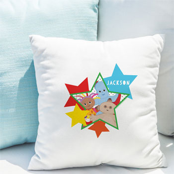 Personalised In The Night Garden Star Character Cushion