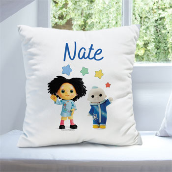 Personalised Moon and Me Pepi Nana & Moon Baby Cushion