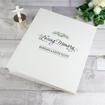 Personalised In Loving Memory Bereavement Photo Album