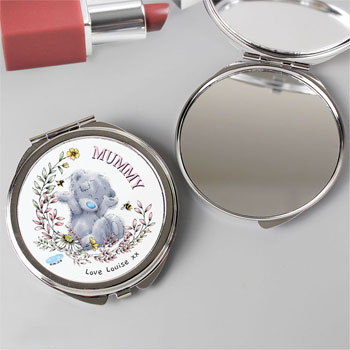Personalised Me to You Bees Compact Mirror Mum, Grandma etc.