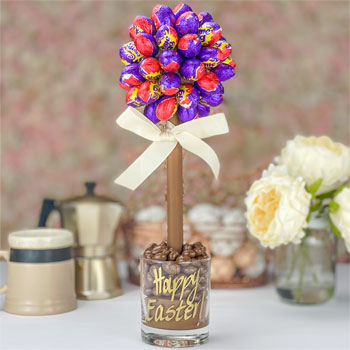 Personalised Cadbury's Mini Creme Eggs Sweet Tree