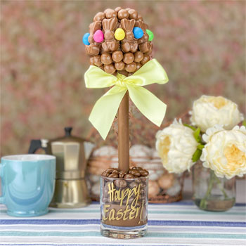 Malteser Bunny and Smartie Egg Easter Personalised Tree