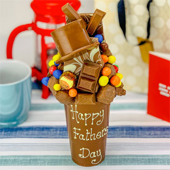 Personalised Fathers Day Chocolate Smash Cup