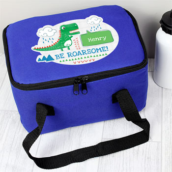 Personalised Be Roarsome Dinosaur Lunch Sandwich Bag