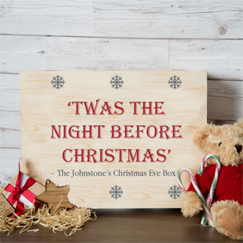 Personalised Family Christmas Eve Box Night Before Christmas