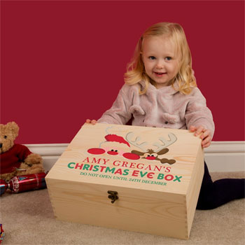 Santa and Rudolph Bespoke Christmas Eve Box for Kids