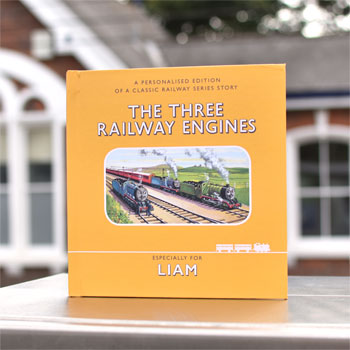 Railway Series The Three Railway Engines Personalised Book