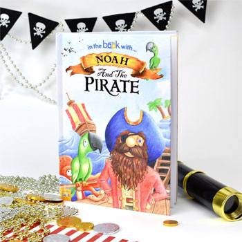 Childrens Personalised Pirate Story Book