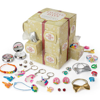 Girl's Twelve Days of Christmas Jewellery Gift Box