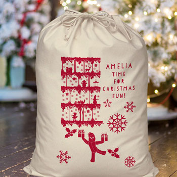 In The Night Garden Personalised Christmas Fun Sack