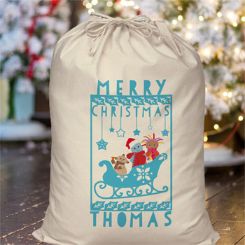 In The Night Garden Snowtime Toddler's Christmas Sack