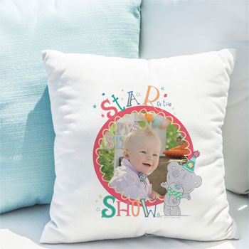 Tiny Tatty Teddy Circus Star Personalised Photo Cushion