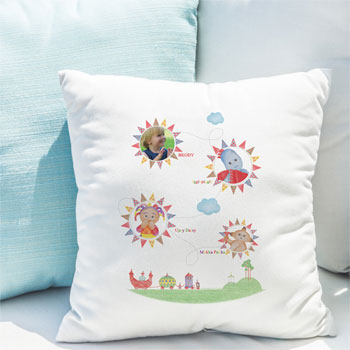 In The Night Garden Colouring Book Photo Name Cushion