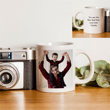 Personalised Sublimation Photo Upload Mug