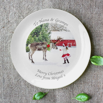 Personalised Photo 8 Inch Coupe Bone China Plate