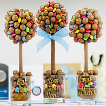 Personalised Malteser and Smarties Tree