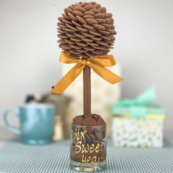 Cadbury's Dairy Milk Button Sweet Tree