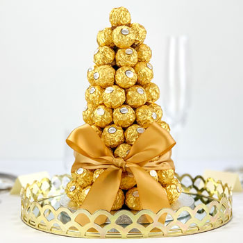 Ferrero Rocher Tower Centre Piece