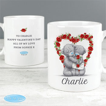 Personalised Me to You Tatty Teddy Valentine's Day Gift Mug