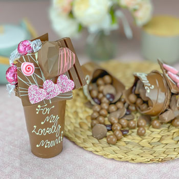 Personalised Belgian Chocolate Mother's Day Smash Cup