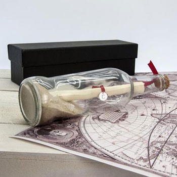 Personalised Create Your Own Message in a Bottle