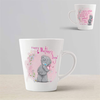 Personalised Me To You Tatty Teddy Mother's Day Conical Mug