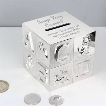 Personalised Big Name ABC Money Box
