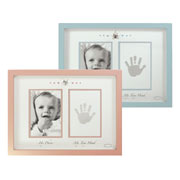 Baby Photo and Handprint Frame